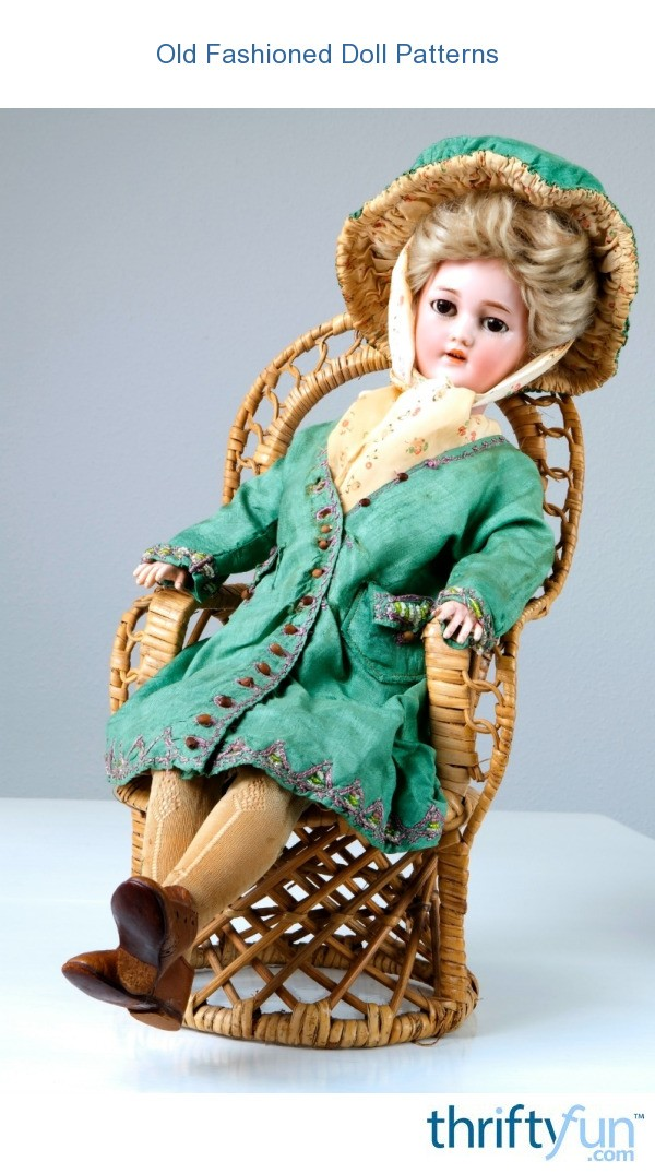 Old Fashioned Doll Patterns Thriftyfun