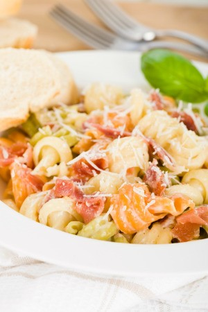 Browned Butter And Cheese Pasta