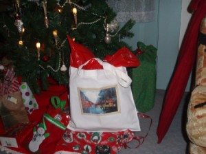 Reusable gift bag.