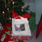 Reusable gift bag.