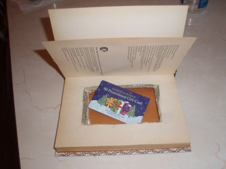 Unique Gift Card or Cash Wrapping