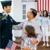 Child Leaving for Military