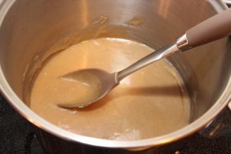 stir until thickened