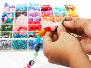 Making a Bead Bracelet