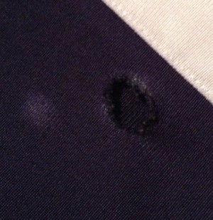 Repairing Holes in Nylon Sweatpants
