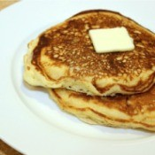homemade banana pancakes