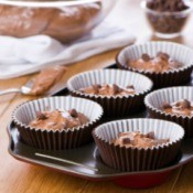 Making Cake Mix Muffins