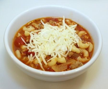 finshed soup