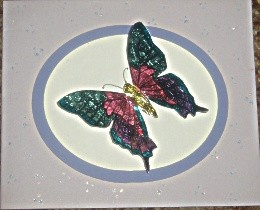 Foil Butterfly Cards