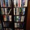 Use DVD Shelves for Paperbacks