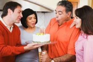 Celebrating Spouse's Birthday
