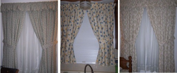More curtains.