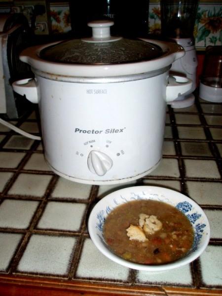 Yummy Crockpot Ham Soup