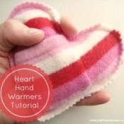 Heart Hand Warmers Tutorial