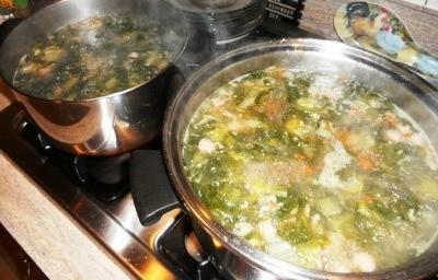 Soup Pots On Stove