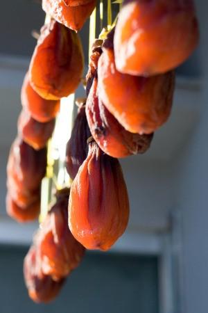 Sun Drying Fruits