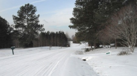Beautiful Snow Storm (North Carolina)