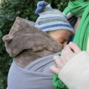 Baby in Sling Carrier