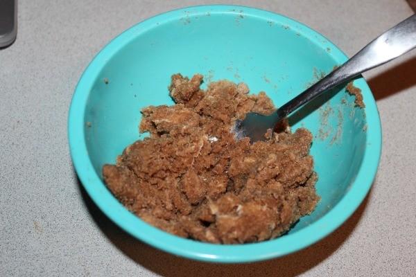Pumpkin Apple Muffin streusel