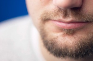 Man with Beard Stubble