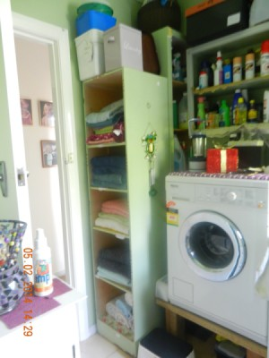 Photo of laundry area.