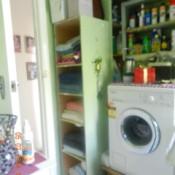Photo of laundry area.