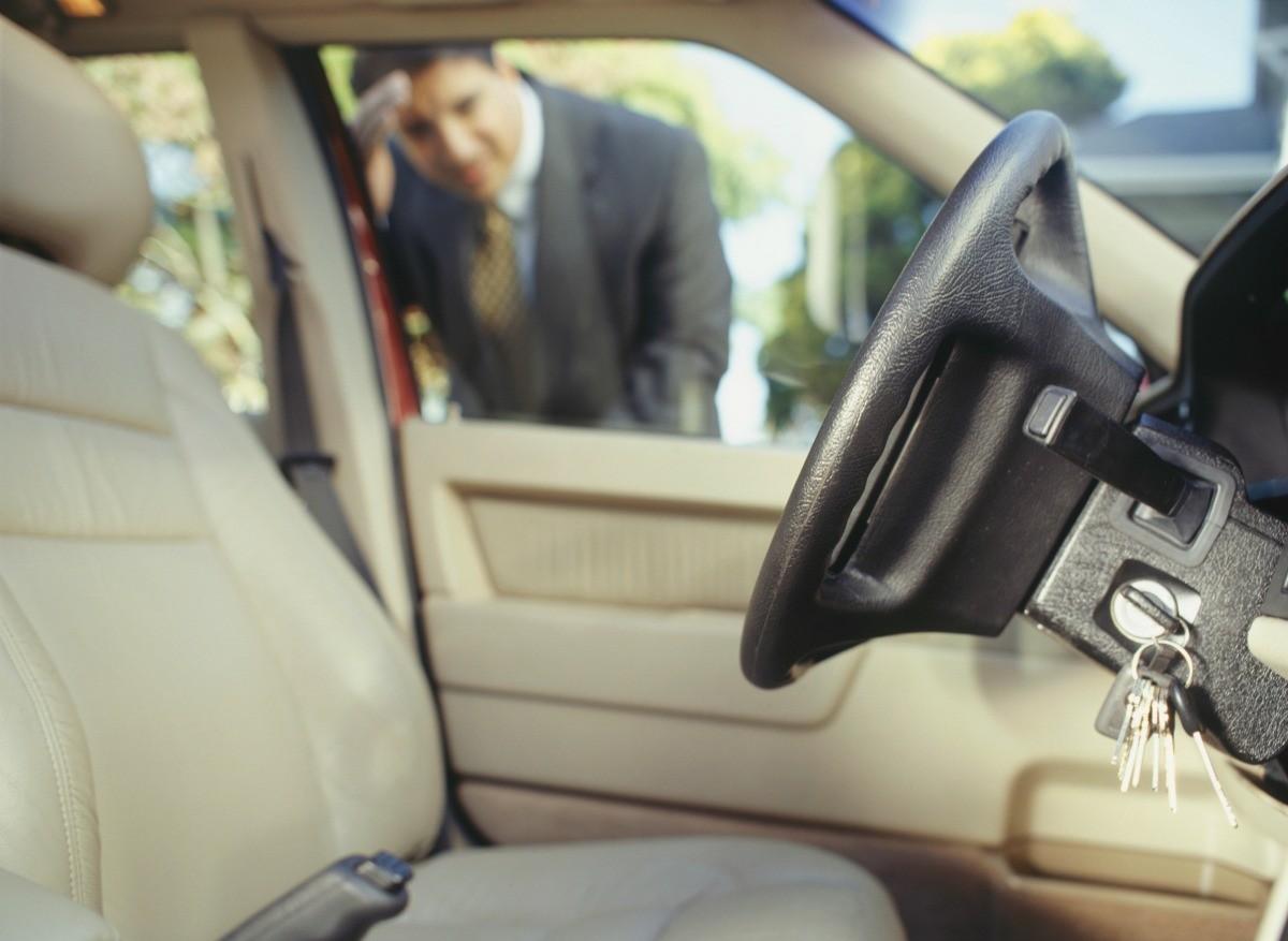 Locked My Keys In My Car >> Solutions For Keys Locked In Car Thriftyfun