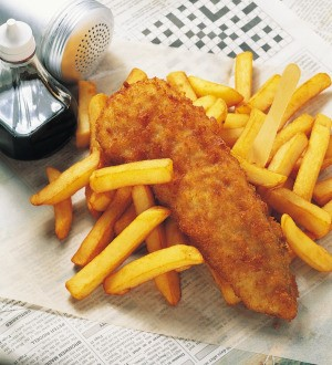 Long John Silver Fish and Chips
