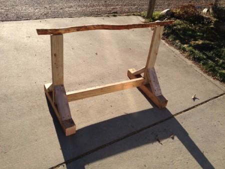 Building a Chicken Perch