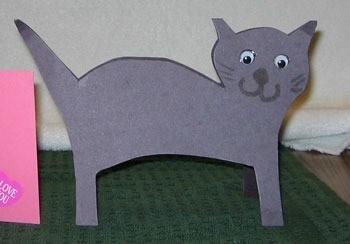 Cat card.