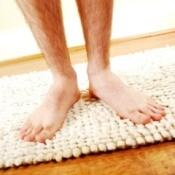Man on Bath Mats