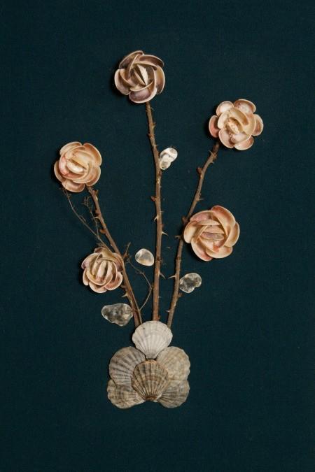 Seashell Roses