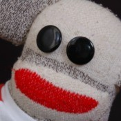 Sock Monkey Face