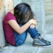 Young Homeless Girl