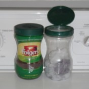 Dryer Lint Container