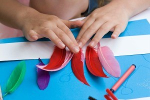 Feather Kids Craft
