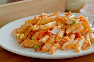 Stir-Fried Pasta