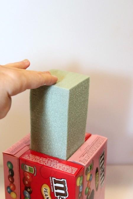 insert foam block