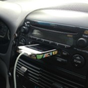 Tape Deck as iPhone Holder