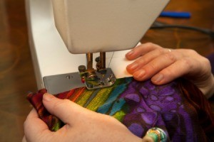 Using Sewing Machine