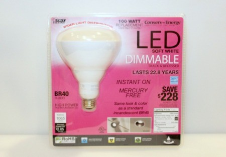 LED bulb in package