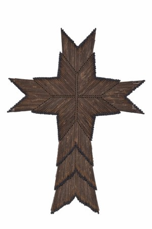 Cross Matchstick Craft