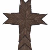 Cross Matchstick Craft