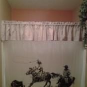 Cowboy shower.