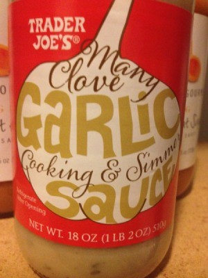 Trader Joe's Many Clove Garlic Cooking and Simmer Sauce