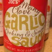 Trader Joe's Many Clove Garlic Cooking and Simmer Sauce