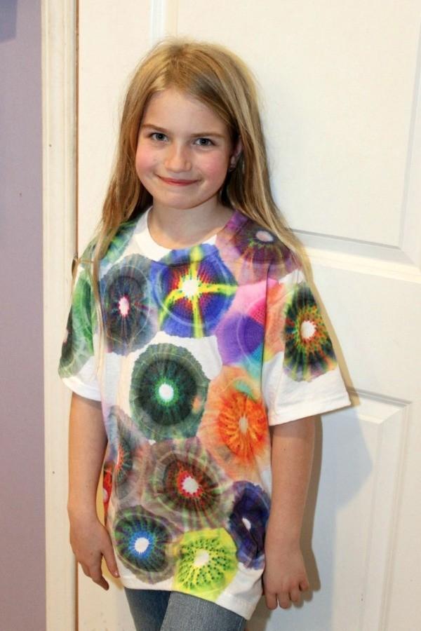 Making A Sharpie Tie Dyed T Shirt Thriftyfun