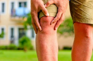 Man with Arthritis in His Knee