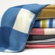 Polar Fleece Blankets Ready for Poncho Making