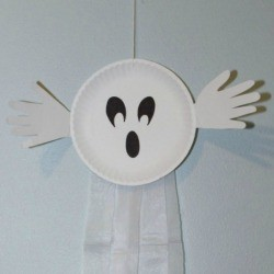 Plate Ghost Decoration